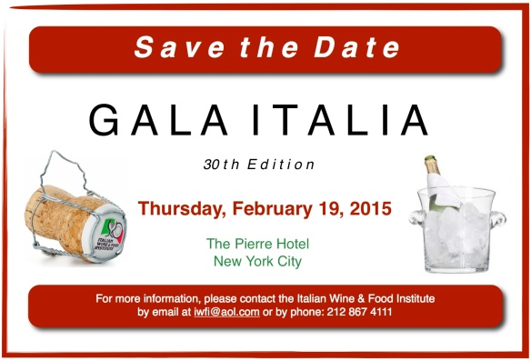 Save the Date GALA ITALIA 30th edition