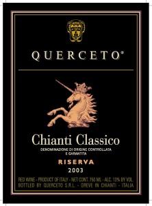 ClassicoRiservaQuerceto
