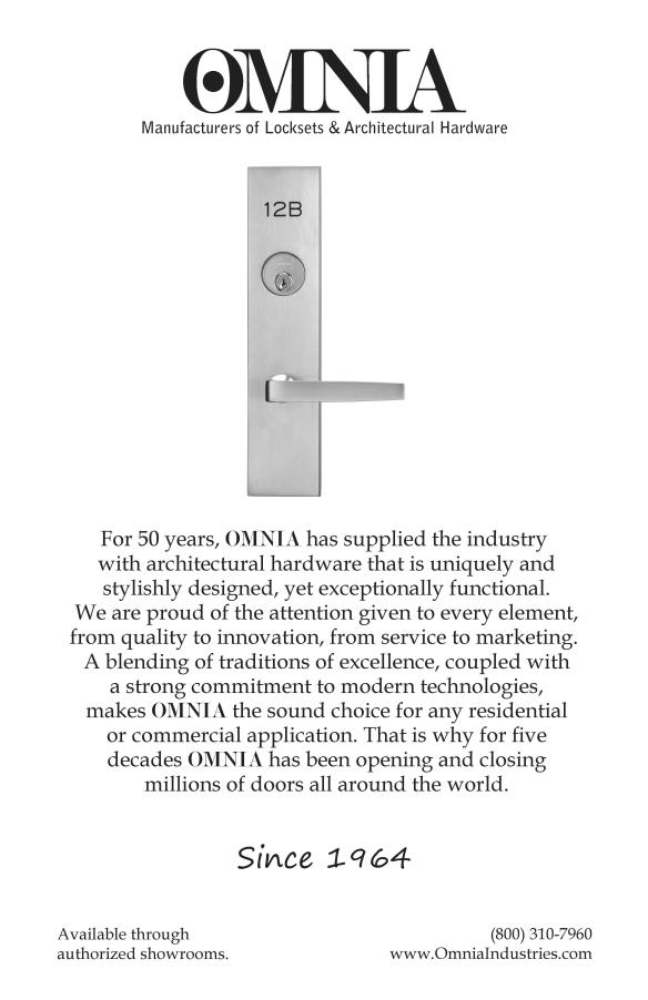 Omnia B&W Gala Italia 2014 Ad FINAL