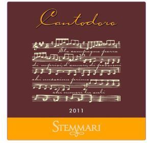 Stemmari Cantodoro front label