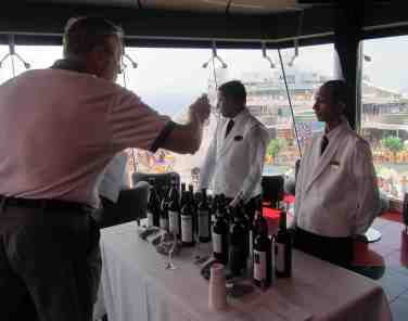 Degustazione di vini rossi