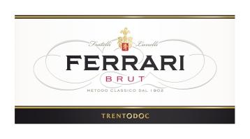 Etichetta Ferrari Brut
