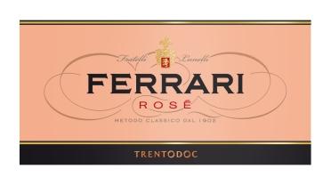 Etichetta Ferrari Rosé