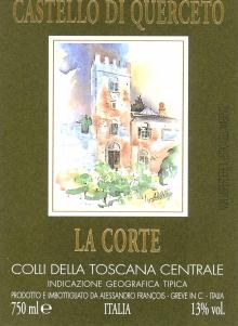 La Corte label without vintage