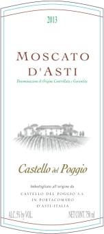 Moscato d'Asti DOCG Castello del Poggio
